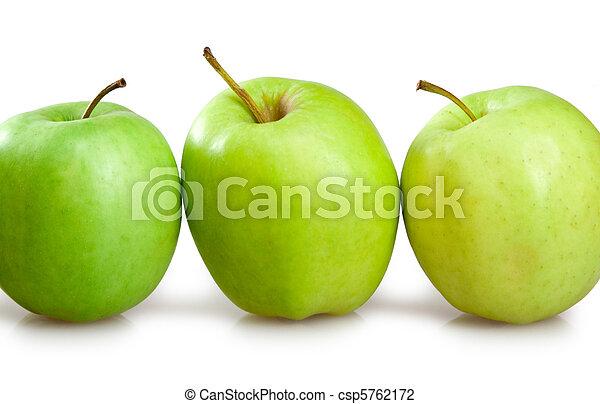 Manzanas verdes - csp5762172