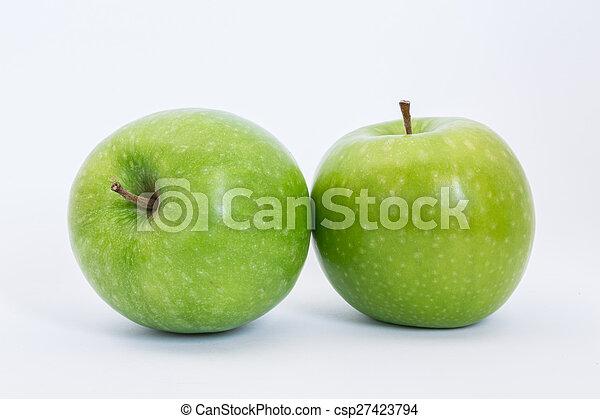 Manzanas verdes - csp27423794