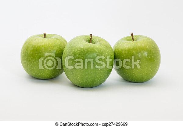 Manzanas verdes - csp27423669