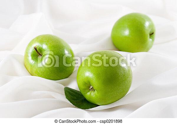 Manzanas verdes - csp0201898