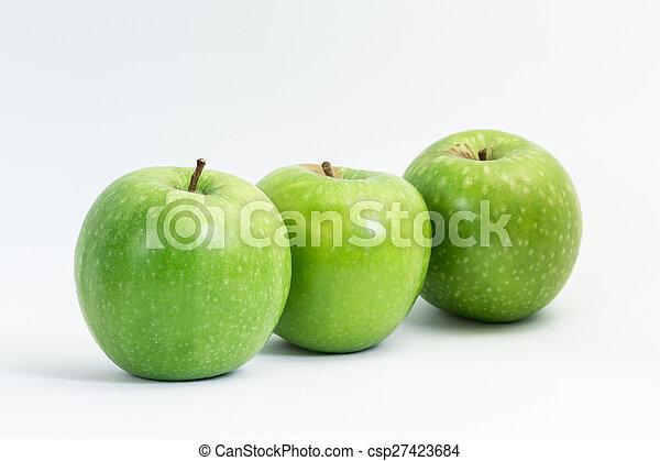 Manzanas verdes - csp27423684