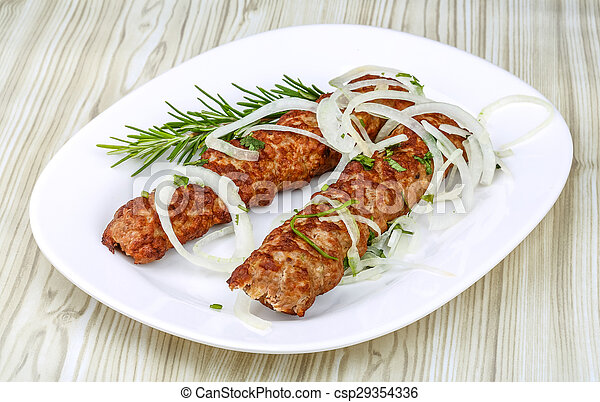 manzo, kebab - csp29354336