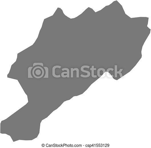 Map - afyonkarahisar (turkey) Map of afyonkarahisar, a province of ...