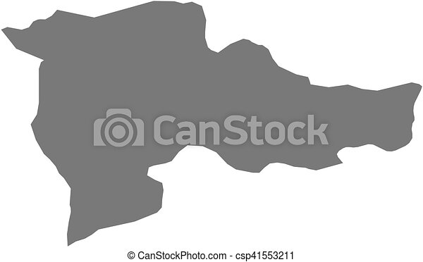 Map - agri (turkey) Map of agri, a province of turkey.