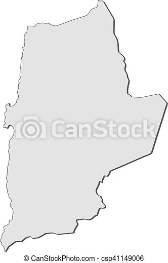 Map antofagasta chile Map of antofagasta a province of