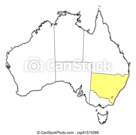 Map Of Australia New South Wales.Map Australia New South Wales