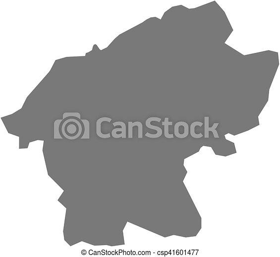 Map - bartin (turkey) Map of bartin, a province of turkey. vectors ...