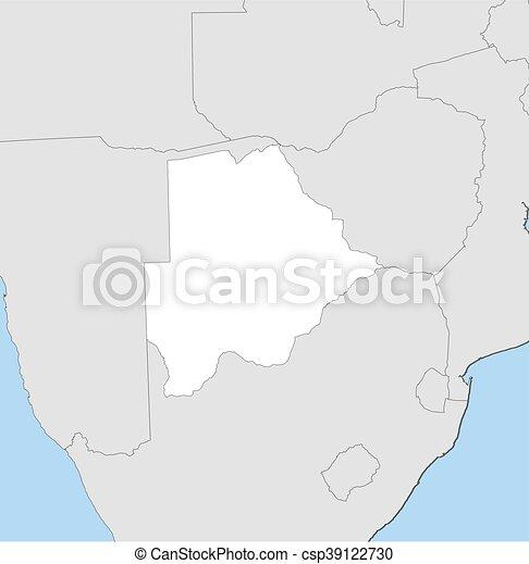 Map botswana map of botswana and nearby countries botswana is map botswana csp39122730 gumiabroncs Image collections
