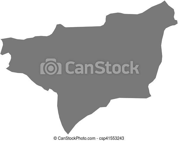 Map - diyarbakir (turkey) Map of diyarbakir, a province of turkey.