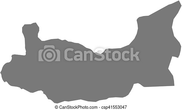 Map elazig turkey Map of elazig a province of turkey eps