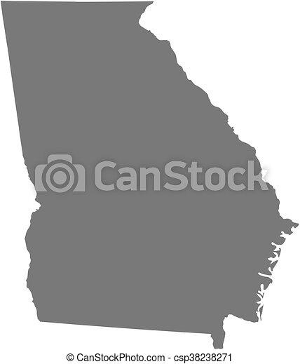 Map Of Georgia United States.Map Georgia United States Map Of Georgia A Province Of United