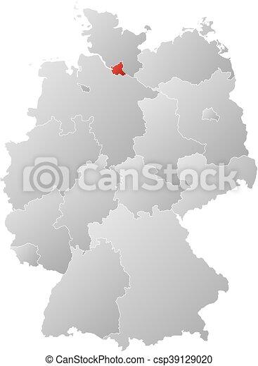 Map Of Germany Hamburg.Map Germany Hamburg