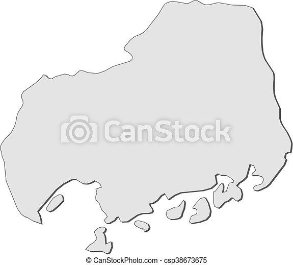 Hiroshima Map Of Japan.Map Hiroshima Japan Map Of Hiroshima A Province Of Japan