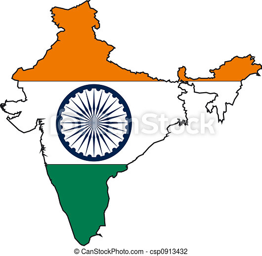 map india map and flag from india clip art search illustration rh canstockphoto com india clip art free indian clipart