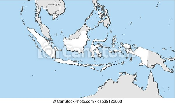 Map indonesia map of indonesia and nearby countries indonesia is map indonesia csp39122868 gumiabroncs Choice Image
