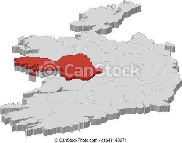 Map - Ireland, Galway - 3D-Illustration Map Of Ireland Galway on simple map of ireland, map of enniskillen ireland, map of glencolmcille ireland, map of north western ireland, map of liscannor ireland, map of kilkee ireland, map of rossaveal ireland, map of antrim coast ireland, map of ireland counties and cities, map of limerick ireland, map of youghal ireland, map of carrickfergus ireland, map of glenbeigh ireland, map of co. cork ireland, map of county mayo ireland, map of downpatrick ireland, map of oughterard ireland, map of kilronan ireland, map of north dublin ireland, map of glasgow ireland,