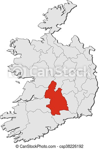 Map Ireland Tipperary Map Of Ireland With The Provinces