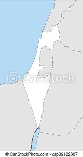 Map   Israel   Csp39122807