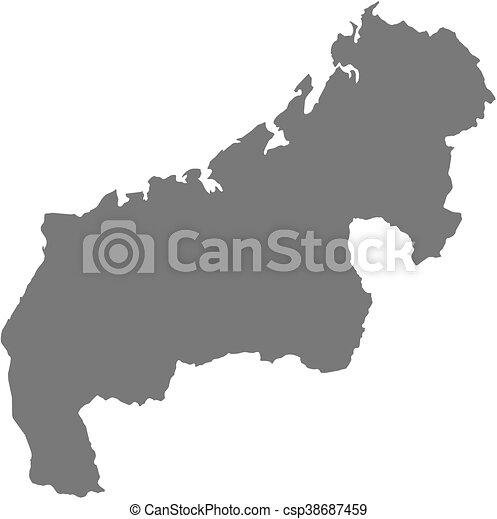 Map mahajanga madagascar Map of mahajanga a province of