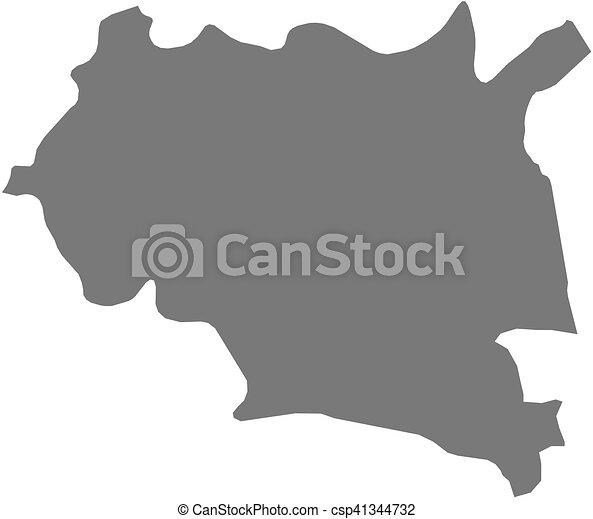 Map Maseru Lesotho Map Of Maseru A Province Of Lesotho - maseru map