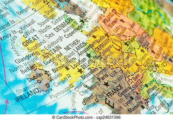 map netherlands belgium close up image csp24631096