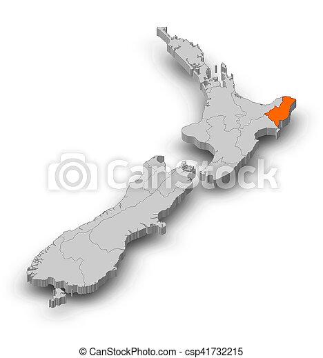 Map - New Zealand, Gisborne - 3D-Illustration Map Gisborne New Zealand on bay of plenty new zealand map, marahau new zealand map, auckland new zealand map, mount ngauruhoe new zealand map, waiotapu new zealand map, mount ruapehu new zealand map, piha new zealand map, waikato new zealand map, franz josef glacier new zealand map, lake pukaki new zealand map, hot water beach new zealand map, manukau new zealand map, mount taranaki new zealand map, broadmeadows new zealand map, bay of islands new zealand map, dunedin new zealand map, queen charlotte sound new zealand map, feilding new zealand map, chatham islands new zealand map,