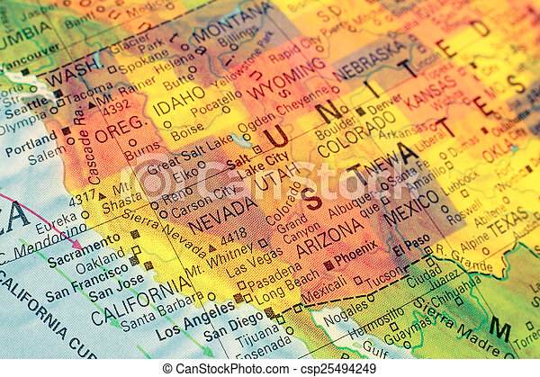 Map North West USA. Close-up image on white map of usa, magnetic map of usa, chicago map of usa, pink map of usa, green map of usa, grey map of usa, blue map of usa, snap map of usa, gold map of usa, blank map of usa, flag map of usa,