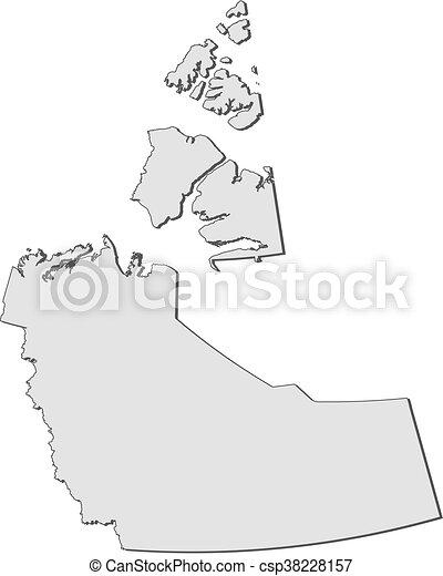 Northwest Territories Canada Map.Map Northwest Territories Canada Map Of Northwest Territories A