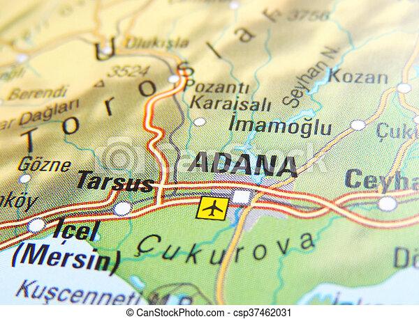 Map of adana turkey stock photos Search Photographs and Clip Art