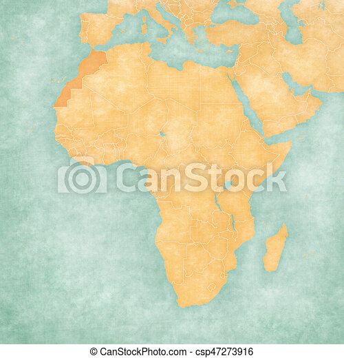 Map Of Africa Sahara.Map Of Africa Morocco