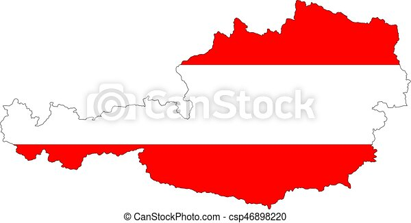 Map of Austria - csp46898220