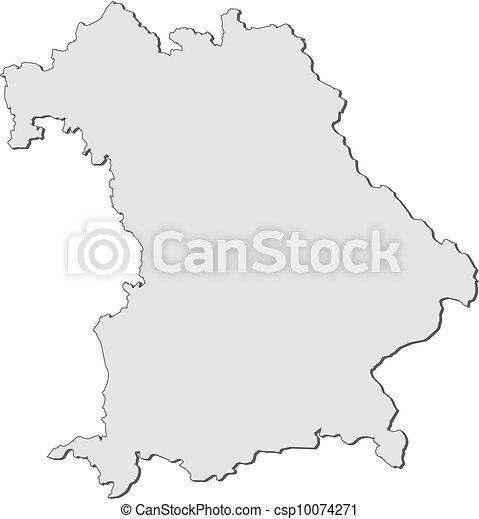 Map Of Bavaria Germany Map Of Bavaria In Germany