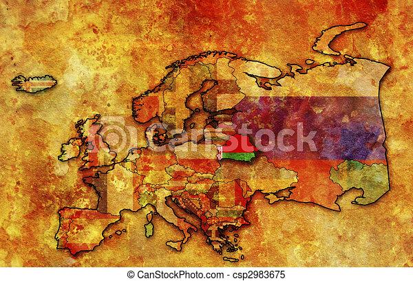 map of belarus - csp2983675