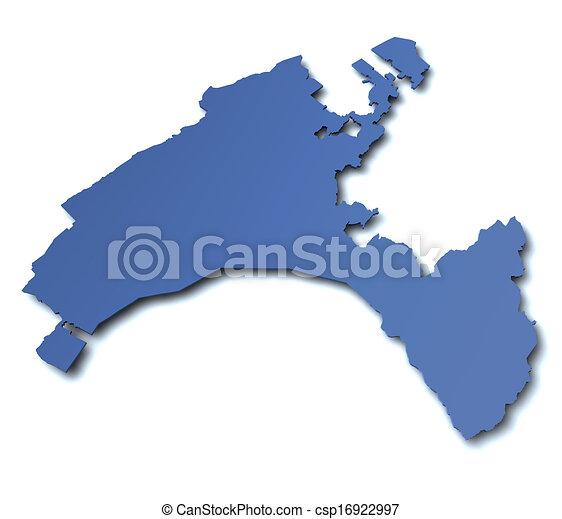 Map of canton vaud switzerland