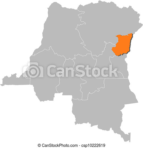 Map of Democratic Republic of the Congo, North Kivu highlighted Map Of Northern Congo on map of northern philippines, map of northern tanzania, map of northern pacific islands, map of northern ukraine, map of northern switzerland, map of northern us & canada, map of northern greece, map of northern jordan, map of northern brazil, map of northern japan, map of northern austria, map of northern georgia, map of northern norway, map of northern chile, map of northern caribbean islands, map of northern pakistan, map of northern europe, map of northern yellowstone, map of northern morocco, map of northern united states of america,