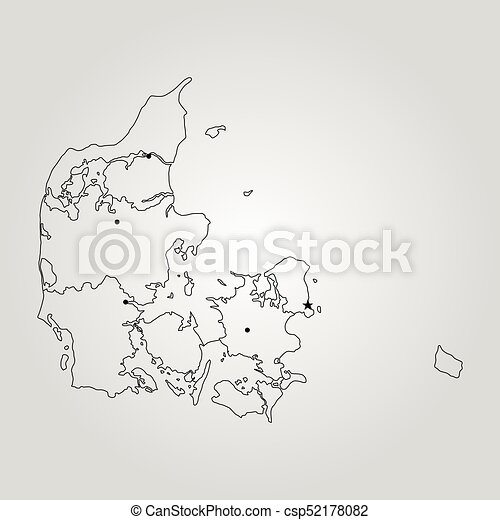 Map of denmark vector illustration world map vector search clip map of denmark csp52178082 gumiabroncs Images