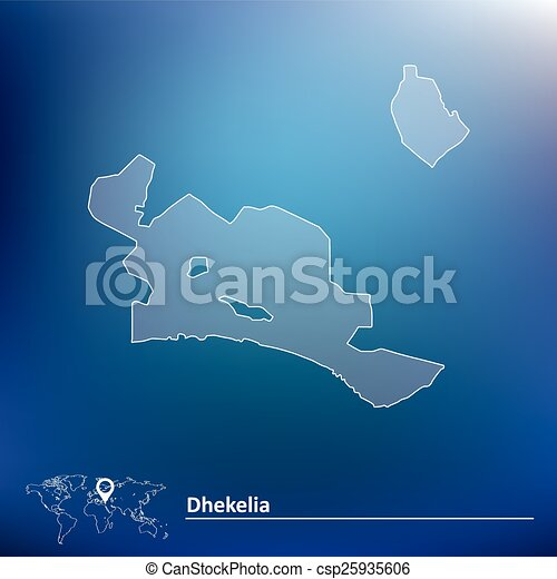 Map of dhekelia vector illustration vector clipart Search