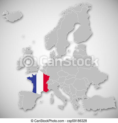 Map Of Europe France.Map Of Europe France
