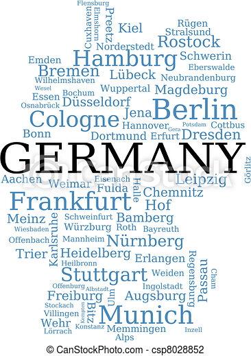 Vector Illustration Of Map Of Germany Germany Outline Map Made - Germany map drawing