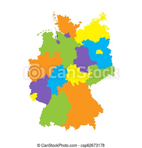 Regions Of Germany Map.Map Of Germany