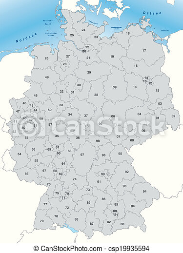 Postcode Deutsch