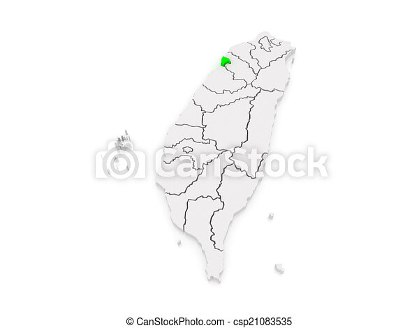 Map of hsinchu city taiwan 3d drawings Search Clipart