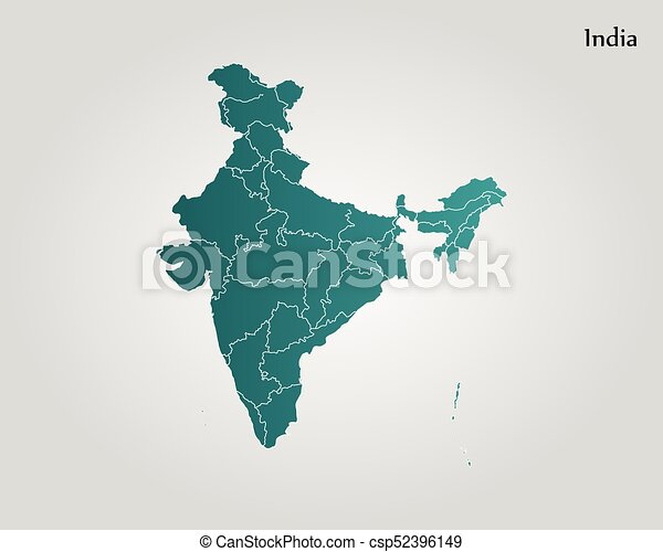 Map of india vector illustration world map eps vector search map of india csp52396149 gumiabroncs Choice Image