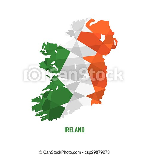 Detailed Map Of Ireland Vector.Map Of Ireland Map Of Ireland Vector Illustration