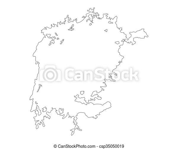 Map of Lake Victoria - csp35050019