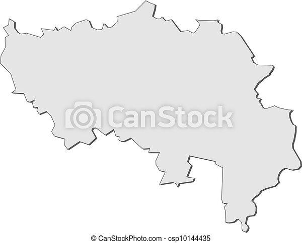 map of liege belgium csp10144435
