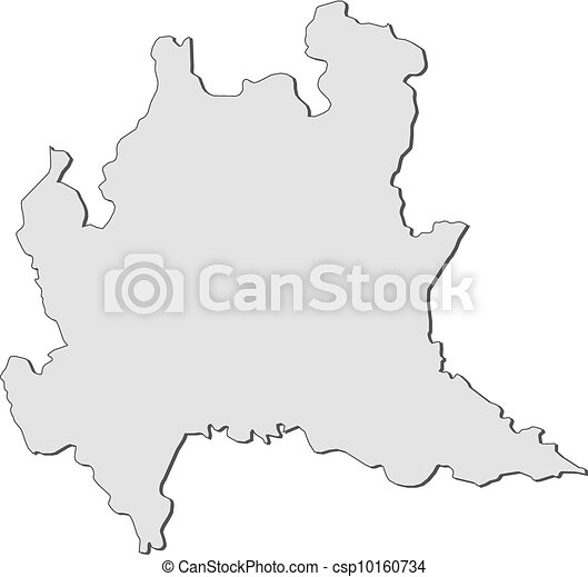 Map Of Lombardy Italy Map Of Lombardy A Region Of Italy