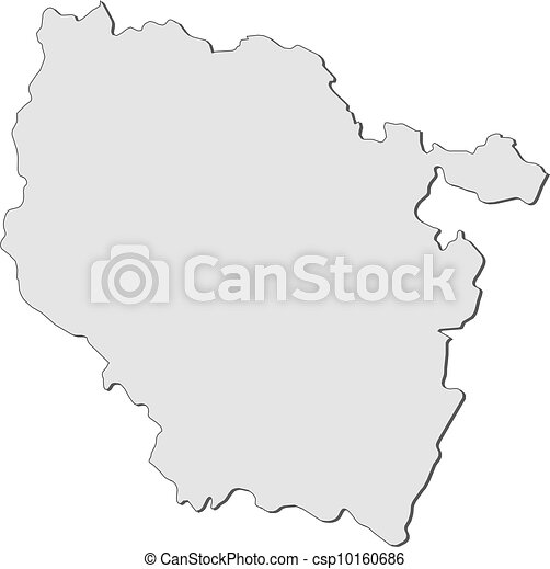 Map Of Lorraine France Map Of Lorraine A Region Of France