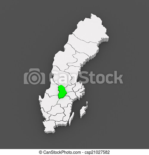 Map of orebro sweden 3d stock illustration Search EPS Clip Art