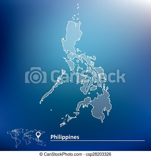 Map of Philippines Illustration Map Of Philippines In World on map showing philippines, map of philippines in imperialism, map of philippines in asia, map of bohol island philippines, map of morocco and surrounding countries, map of philippines on world map,